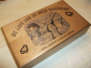 gift for grandparents keepsake box