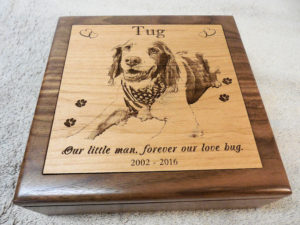medium photo engraved-pet-urn