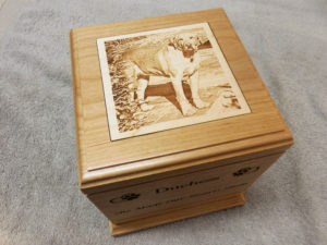 large-wooden-pet-urn-laser-engraved-photo